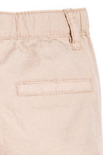 Cotton shorts - Light beige - Kids | H&M CA 4
