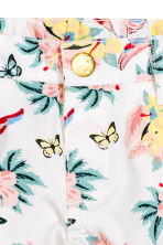 Cotton shorts - White/Patterned - Kids | H&M 3