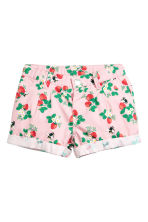 Cotton shorts - Pink/Strawberries - Kids | H&M 2