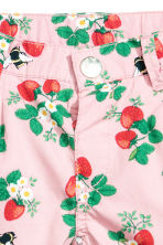 棉質短褲 - Pink/Strawberries -  | H&M 5