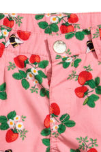 Cotton shorts - Pink/Strawberries - Kids | H&M 5