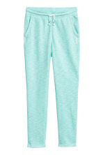 Joggers - Turchese chiaro mélange -  | H&M IT 2