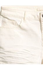 Twill shorts - Natural white - Ladies | H&M GB 3