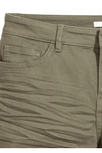 Twill shorts - Khaki green - Ladies | H&M GB 3