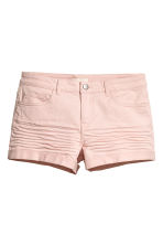 Twill shorts - Powder pink - Ladies | H&M IE 2