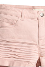 Twill shorts - Powder pink - Ladies | H&M IE 4