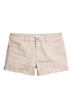Twill shorts - Light mole - Ladies | H&M 2