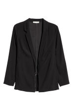 H&M+ Crêpe jacket - Black - Ladies | H&M 2