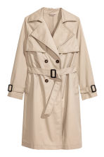 H&M+ Trenchcoat - Light beige - Ladies | H&M 2