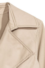 H&M+ Trenchcoat - Light beige - Ladies | H&M 3
