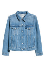 H&M+ Denim jacket - Denim blue - Ladies | H&M CA 2