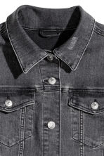 H&M+ Denim jacket - Black denim - Ladies | H&M 2