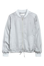 Light bomber jacket - Light grey - Kids | H&M 2