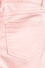 Twill shorts with lace - Light pink - Kids | H&M 3