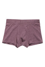 3件入四角褲 - Grey/Purple - Men | H&M 3