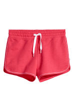 Shorts in felpa - Rosa lampone -  | H&M IT 2