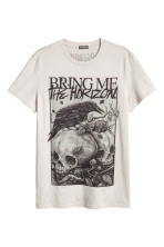 Бежевый/Bring Me the Horizon