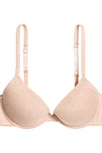 Push-up in misto cotone, 2 pz - Beige chiaro mélange - DONNA | H&M IT 4