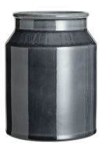 Stoneware vase - Dark grey - Home All | H&M CN 2