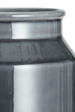 Stoneware vase - Dark grey - Home All | H&M CN 4