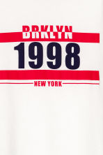 Camiseta con estampado - Blanco/New York -  | H&M ES 3