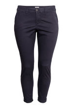 H&M+ Chinos - Dark blue - Ladies | H&M 2
