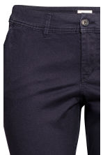 H&M+ Chinos - Dark blue - Ladies | H&M 4