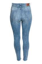 H&M+ Slim High Ankle Jeans - Denim blue/Washed - Ladies | H&M CN 3