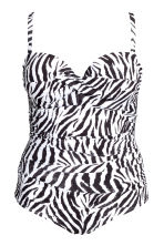 H&M+ Swimsuit - Zebra print - Ladies | H&M CN 2