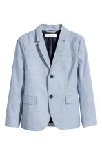 Cotton jacket - Blue marl - Kids | H&M CN 2