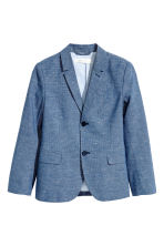 Cotton jacket - Dark blue marl - Kids | H&M 2