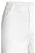 H&M+ Denim shorts - White denim - Ladies | H&M 3