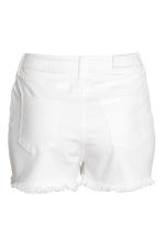 H&M+ Denim shorts - White denim - Ladies | H&M 2