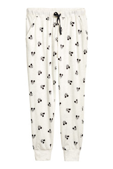 Jersey pyjama bottoms