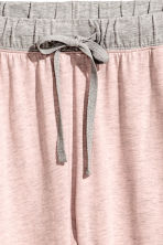 Jersey pyjama bottoms - Pink marl - Ladies | H&M CN 3