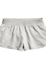 Lounge set with top and shorts - Grey marl - Ladies | H&M CN 3