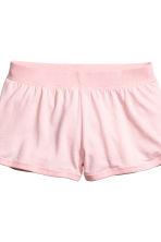 Lounge set with top and shorts - Light pink - Ladies | H&M GB 3