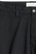 Chino shorts - Black - Men | H&M CN 3