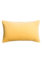 Housse de coussin en velours - Jaune - Home All | H&M FR 1