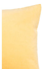 Housse de coussin en velours - Jaune - Home All | H&M FR 2