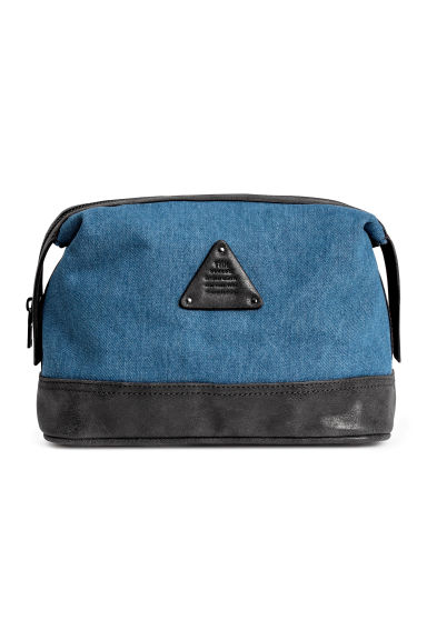 Wash bag - Blue - Men | H&M CN 1