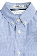 Cotton shirt - Blue/Striped - Kids | H&M 3