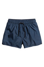 Short swim shorts - Dark blue - Men | H&M CN 2