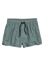 Short swim shorts - Grey green - Men | H&M CN 2
