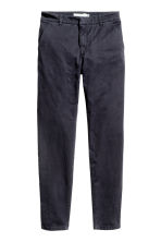 Chinos - Dark blue - Ladies | H&M 2