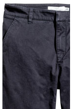 Chinos - Dark blue - Ladies | H&M GB 3