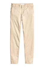 Chinos - Light beige - Ladies | H&M 2