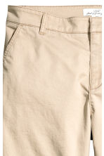 Chinos - Light beige - Ladies | H&M 3