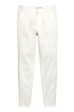 Chinos - White - Ladies | H&M CN 2