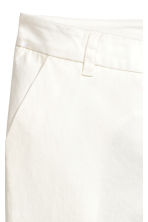 Chinos - White - Ladies | H&M CN 3